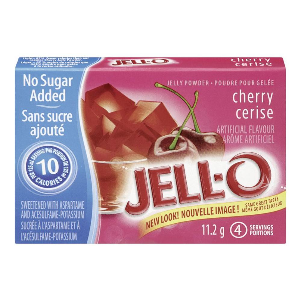 Jelly Powder, Cherry No Sugar Added