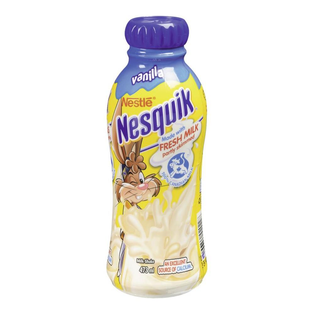 Nesquik Milkshake, Vanilla