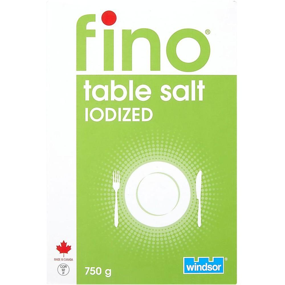 Iodized Table Salt
