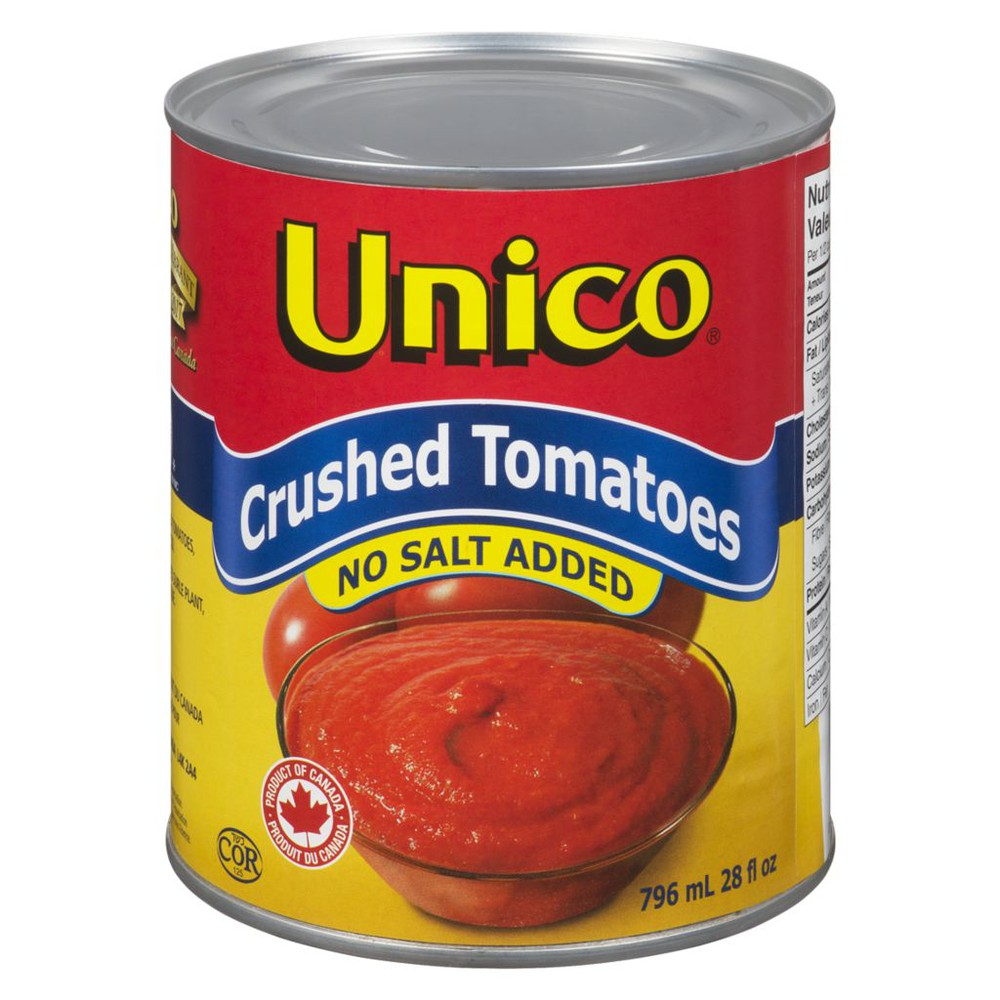 Crushed Tomatoes. No Salt Added