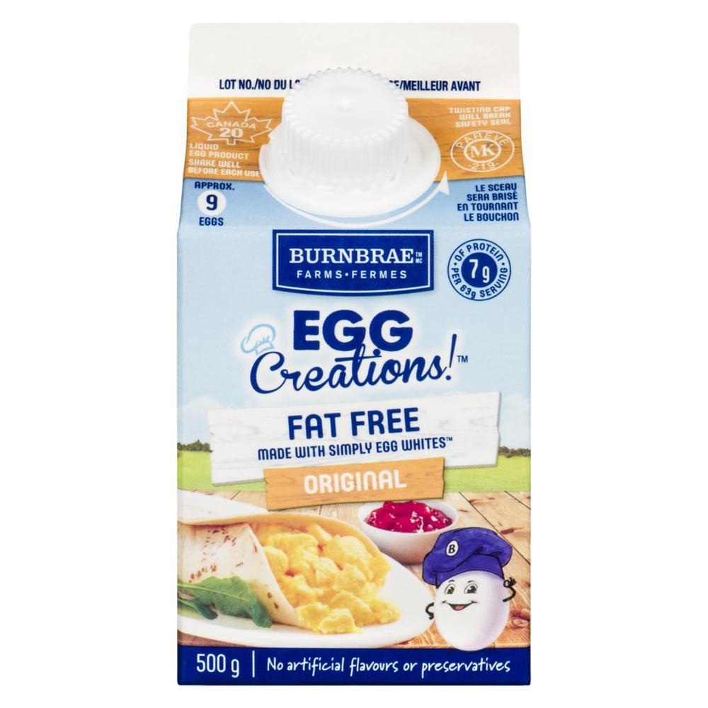 Egg Creations! fat free original liquid egg