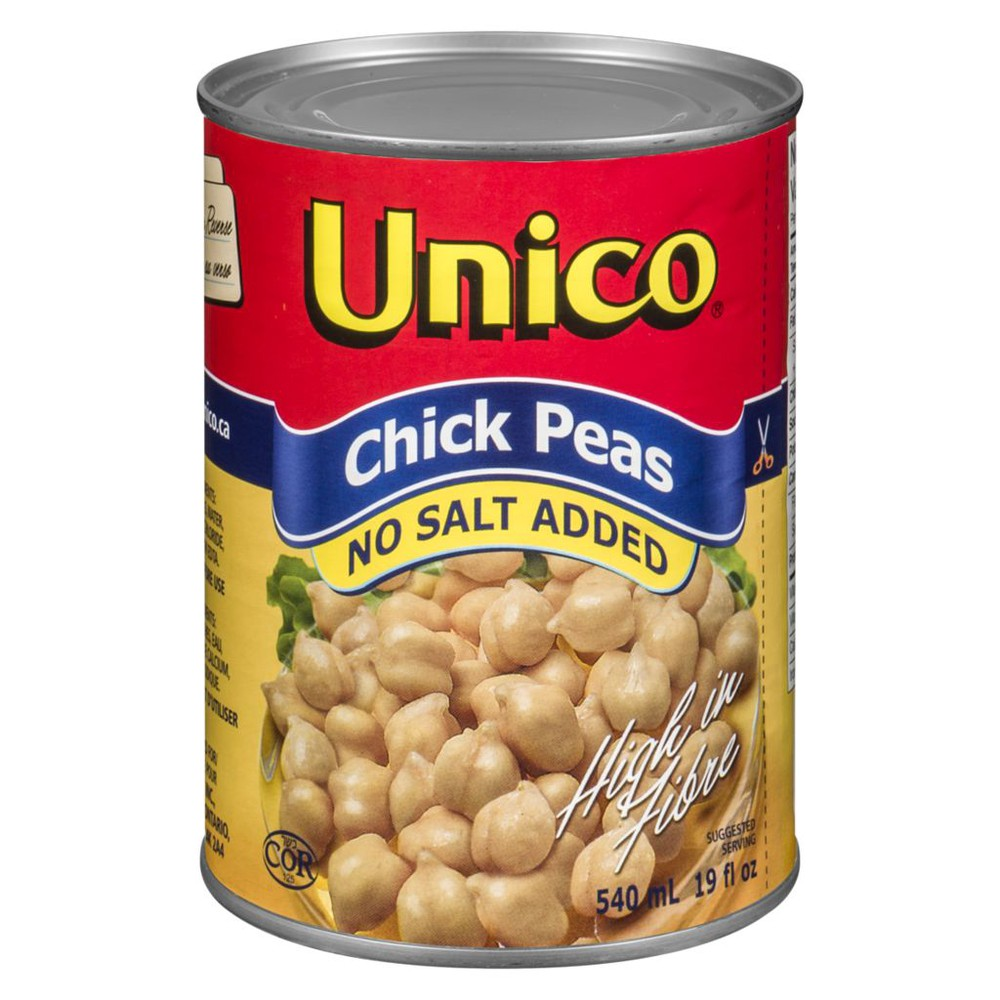 Chick Peas, No Salt Added