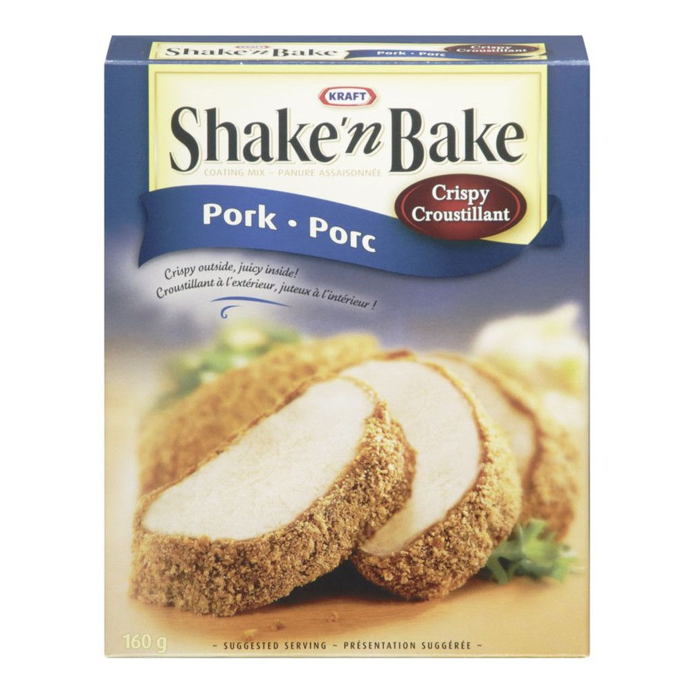 Shake 'n bake crispy pork coating mix