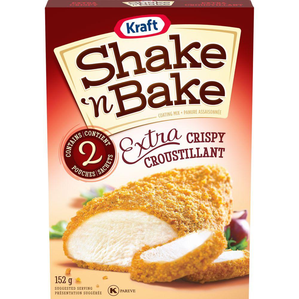 Shake 'n bake crispy chicken coating mix