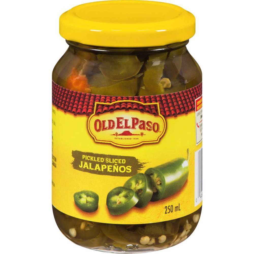 Pickled, Sliced Jalapeños