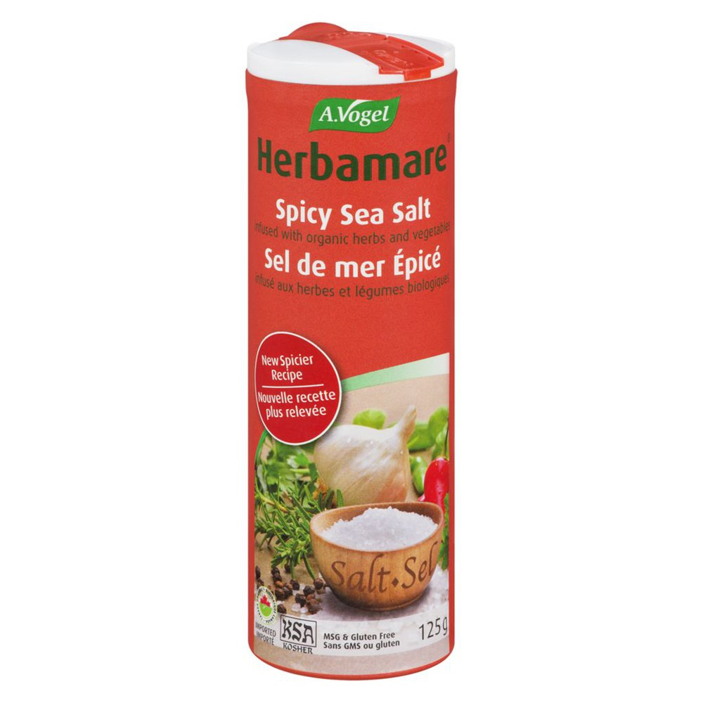 Spicy sea salt