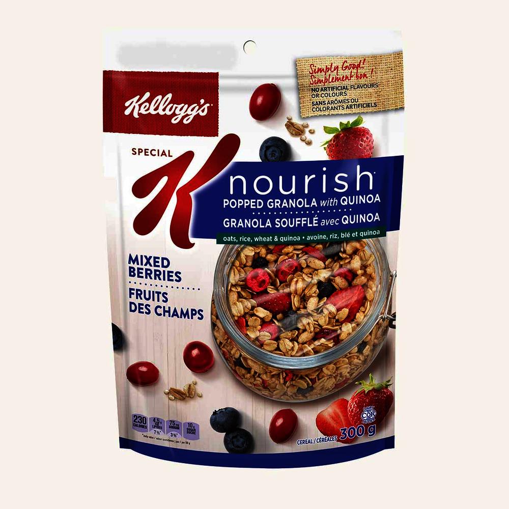 Special K Nourish Mixed Berries Granola