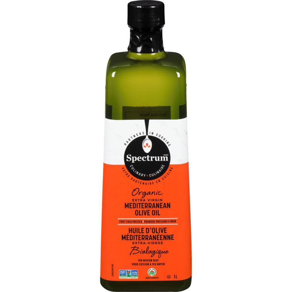 Organic mediterranean extra virgin olive oil