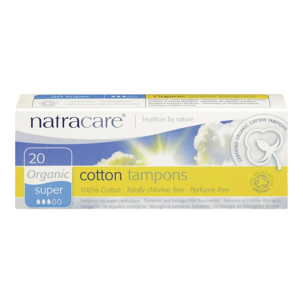 Cotton Tampons, Super