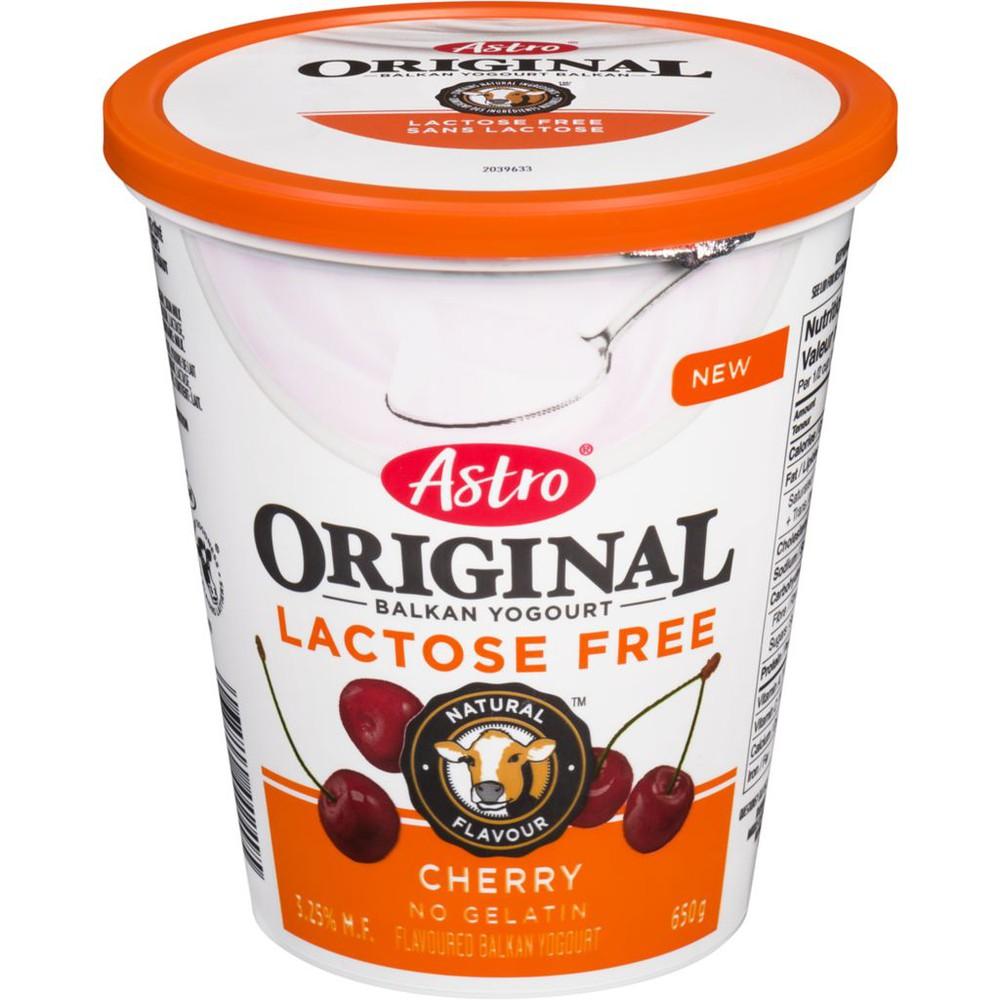 Original Balkan Yogourt Lactose Free Cherry 3.25% M.F.