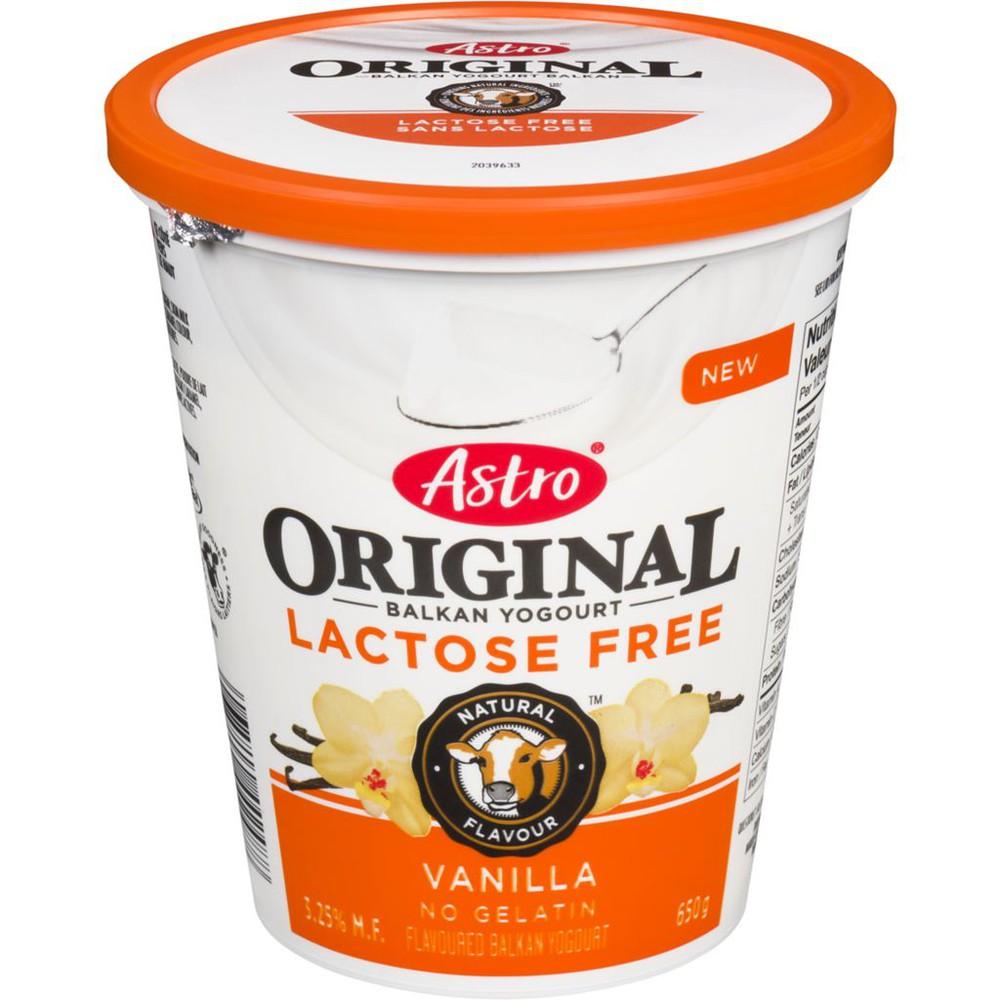 Original Balkan Yogourt Lactose Free Vanilla 3.25% M.F.