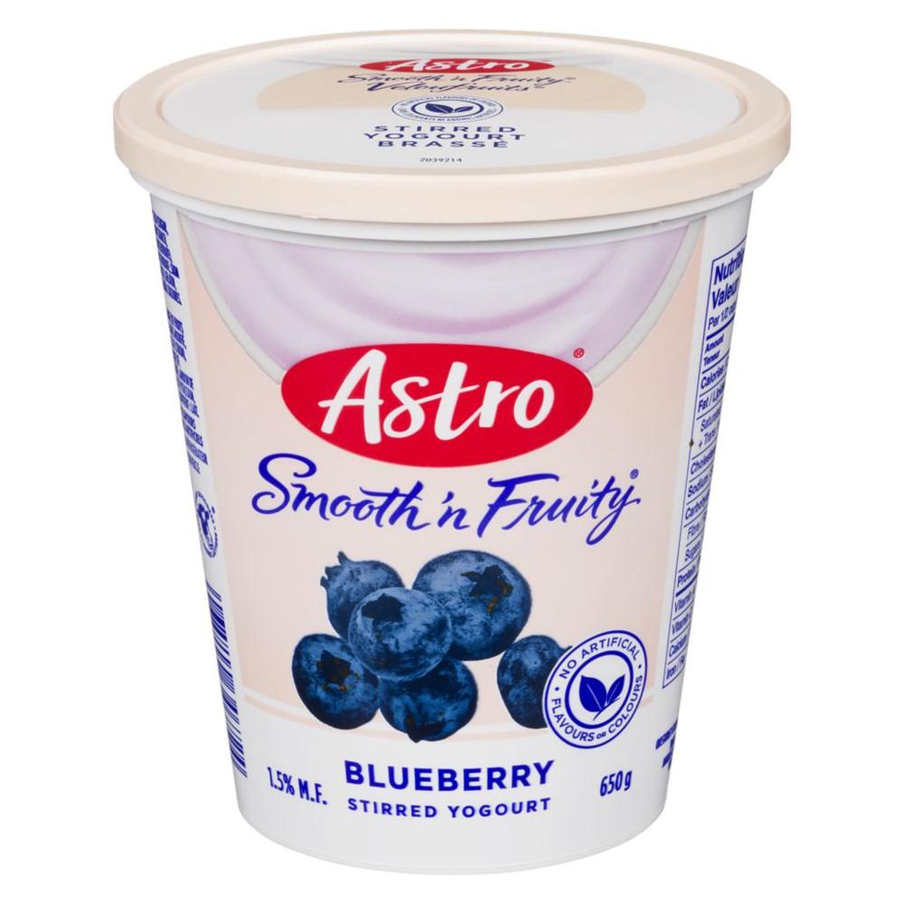 Yogurt, Blueberry