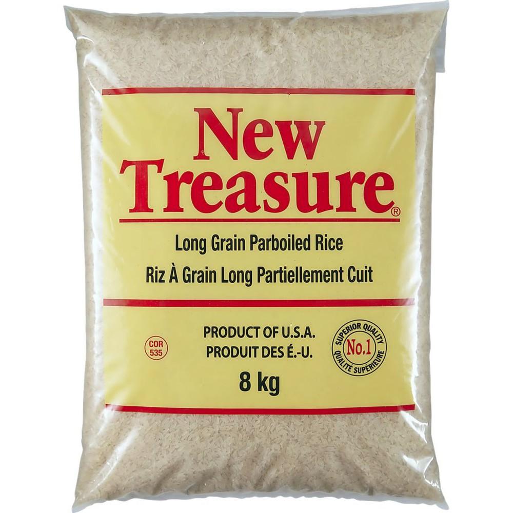 New Treasure Long Grain Parboiled Rice