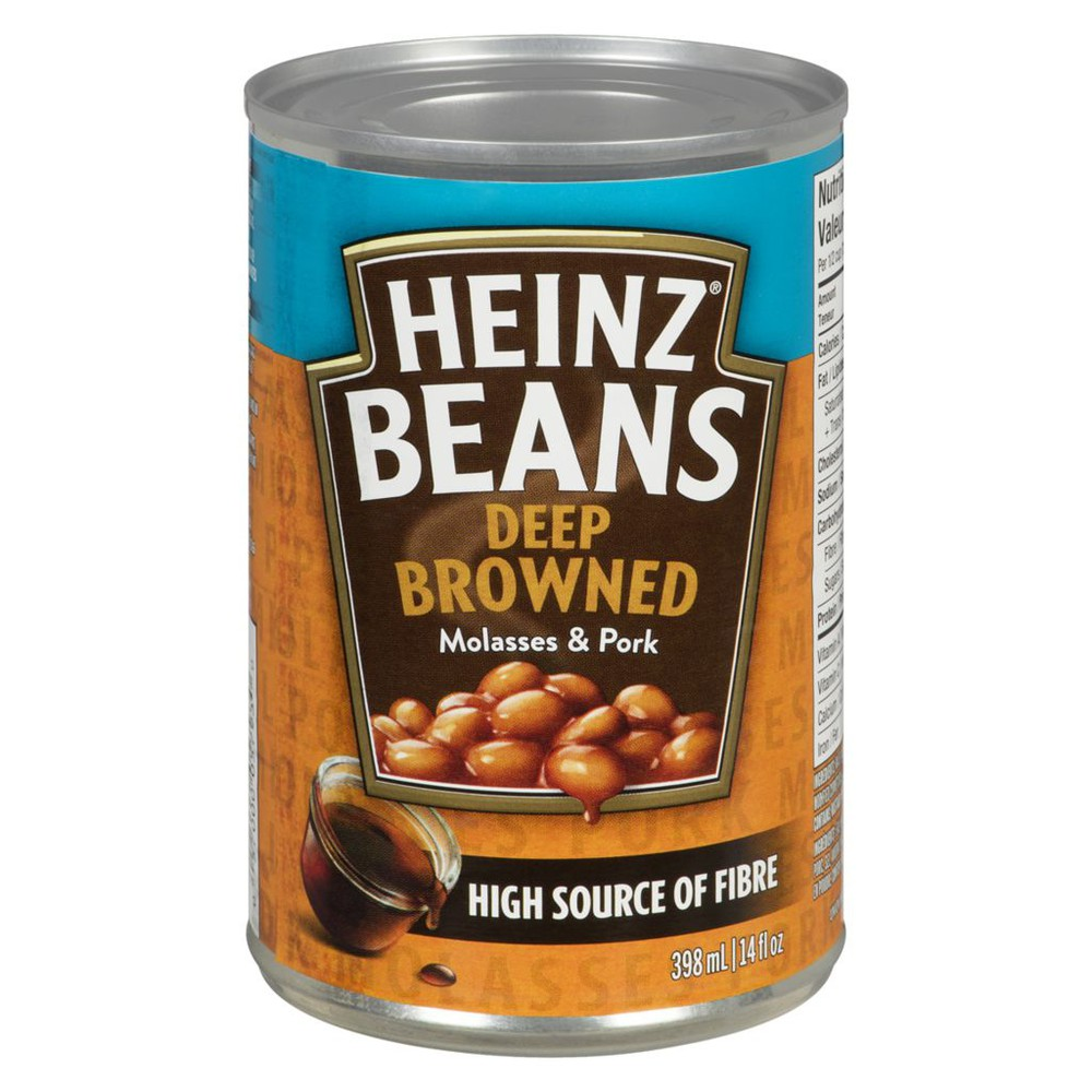 Deep-Browned Beans with Pork & Molasses