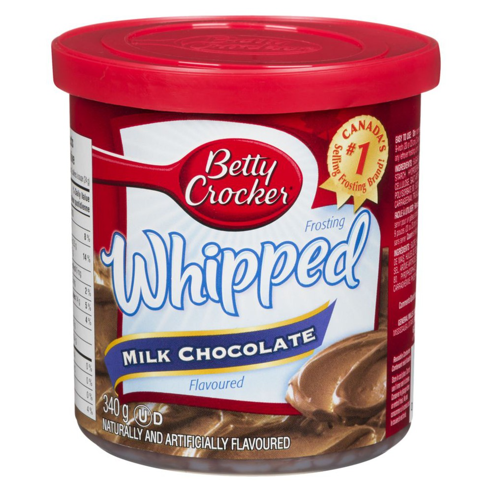 Whipped Frosting, Milk Chocolate