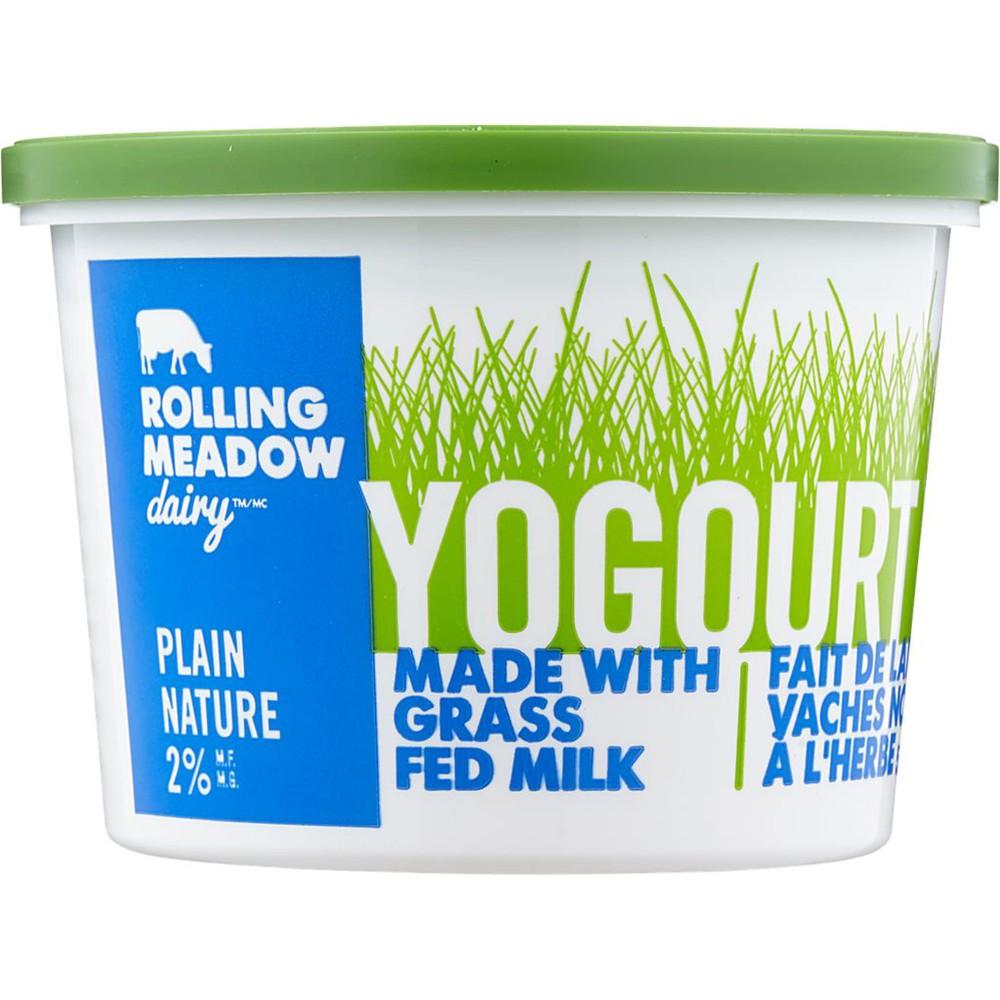 Yogurt, Plain 2%