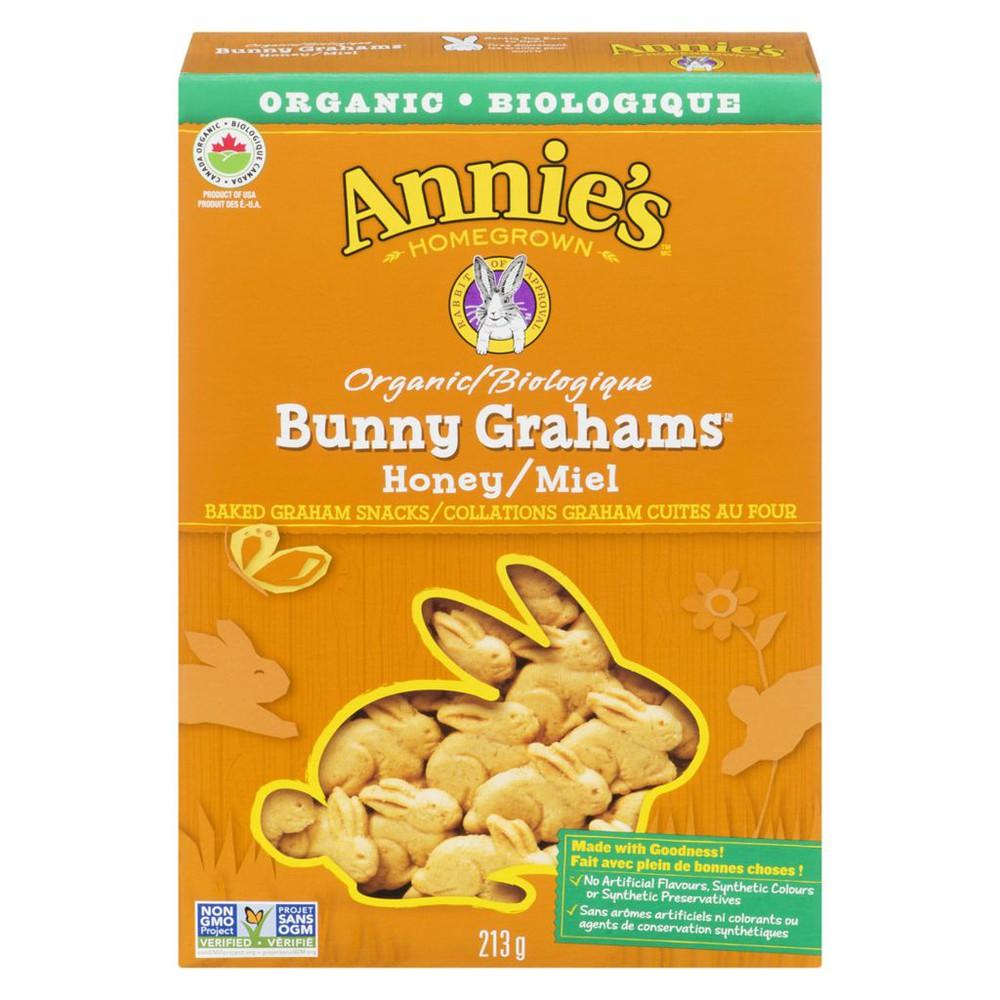Bunny Graham honey snacks
