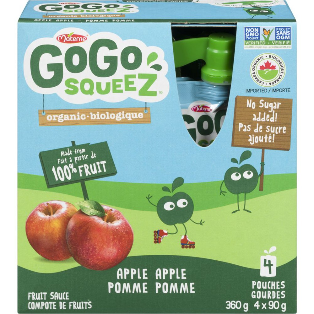 Fruit Sauce Organic Apple Apple