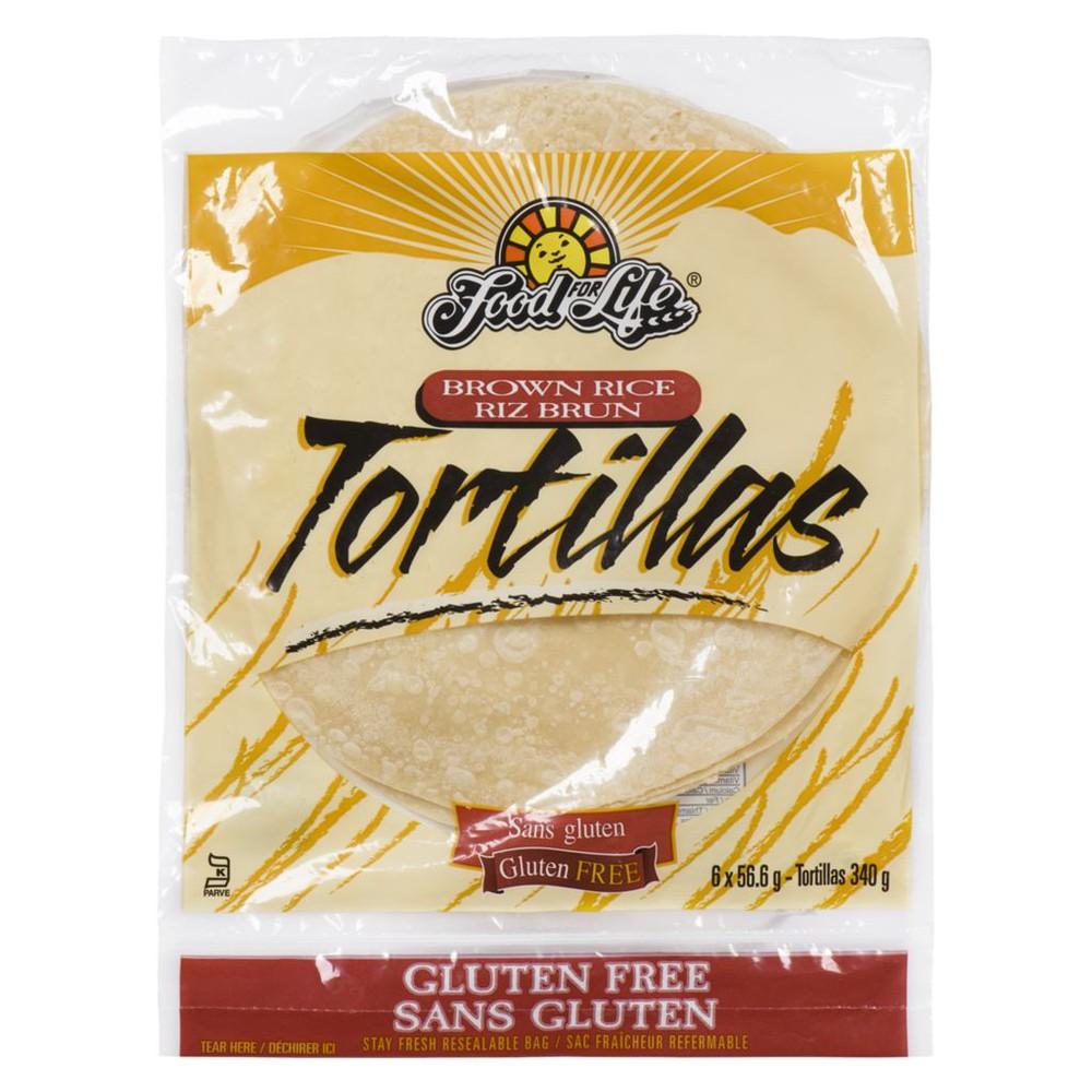 Gluten-Free Brown Rice Tortillas