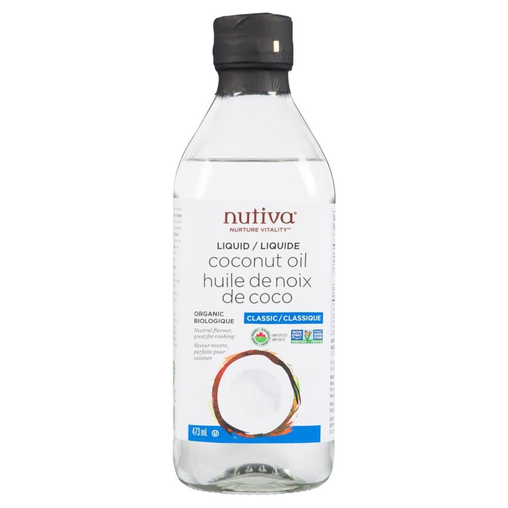 Nutiva Classic Liquid Coconut Oil