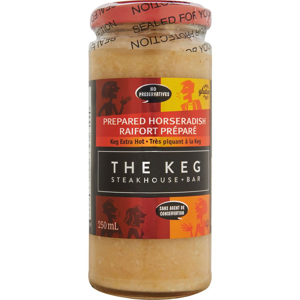 Prepared Horseradish Keg Extra Hot 250 ml