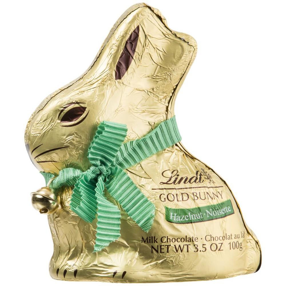 Gold bunny hazelnut chocolate