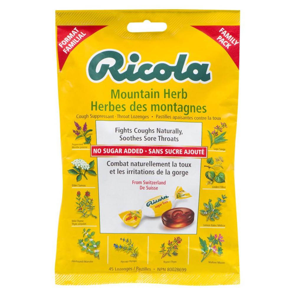 Mountain herb lozenges