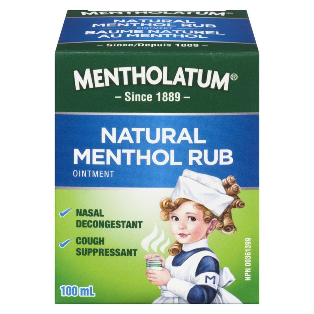 Natural menthol rub