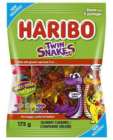 Twin Snakes Gummy Candies Sweet and Sour