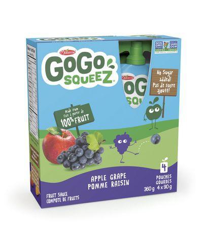 Apple grape fruit sauce