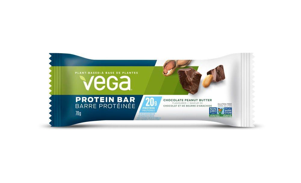 Chocolate peanut butter protein bar