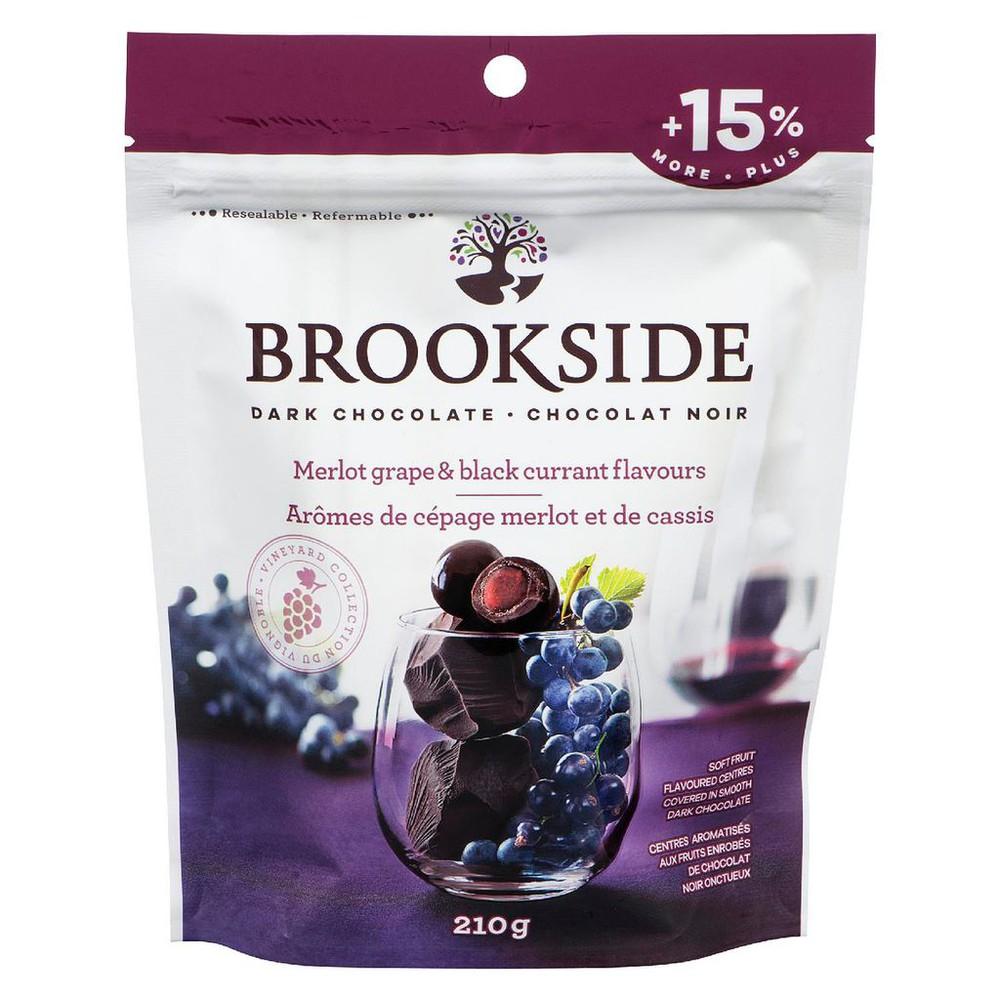 Dark chocolate merlot grape and black currant flavours