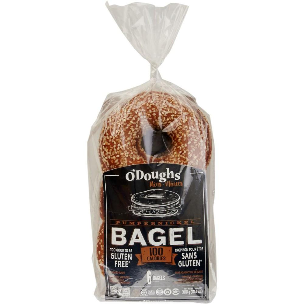 Pumpernickel Bagel Thins