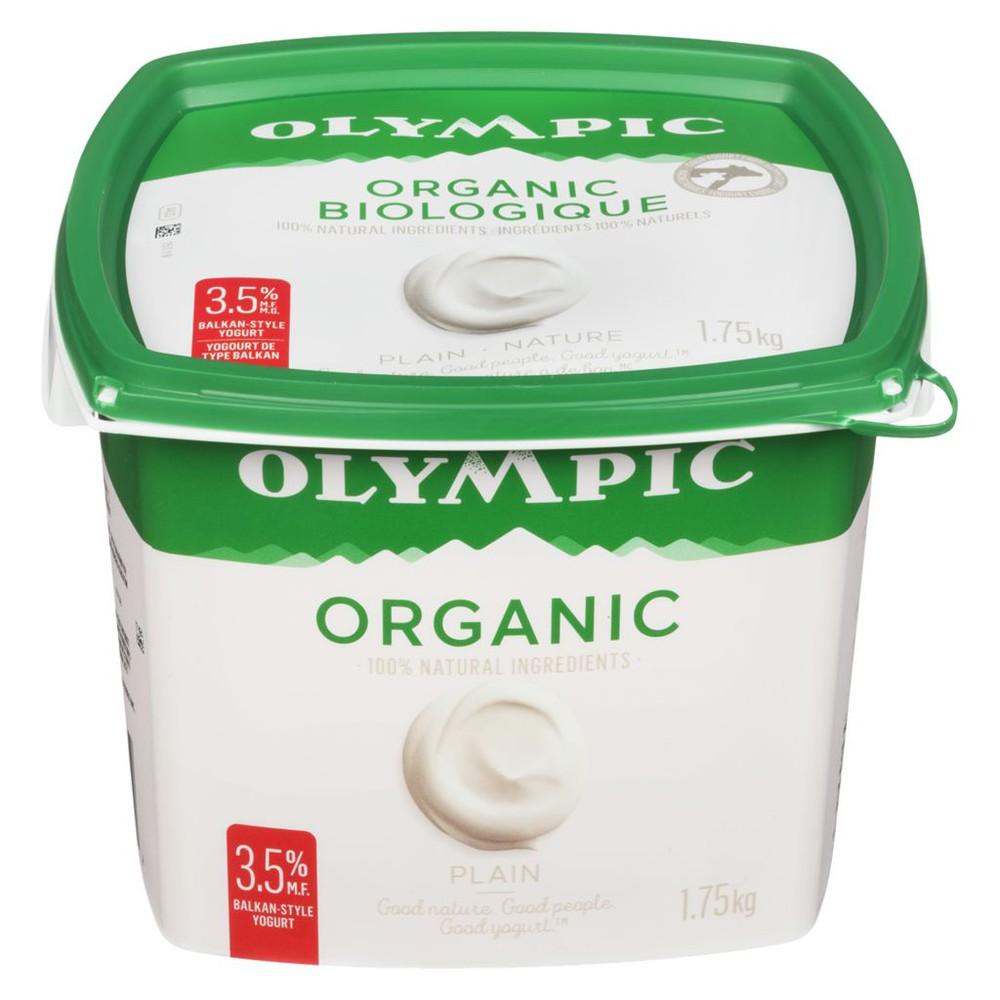 Organic Yogurt, Plain