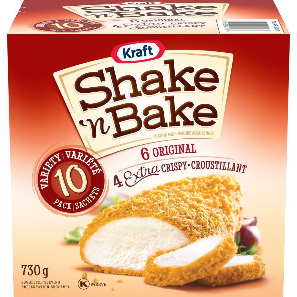 Shake'n bake variety pack