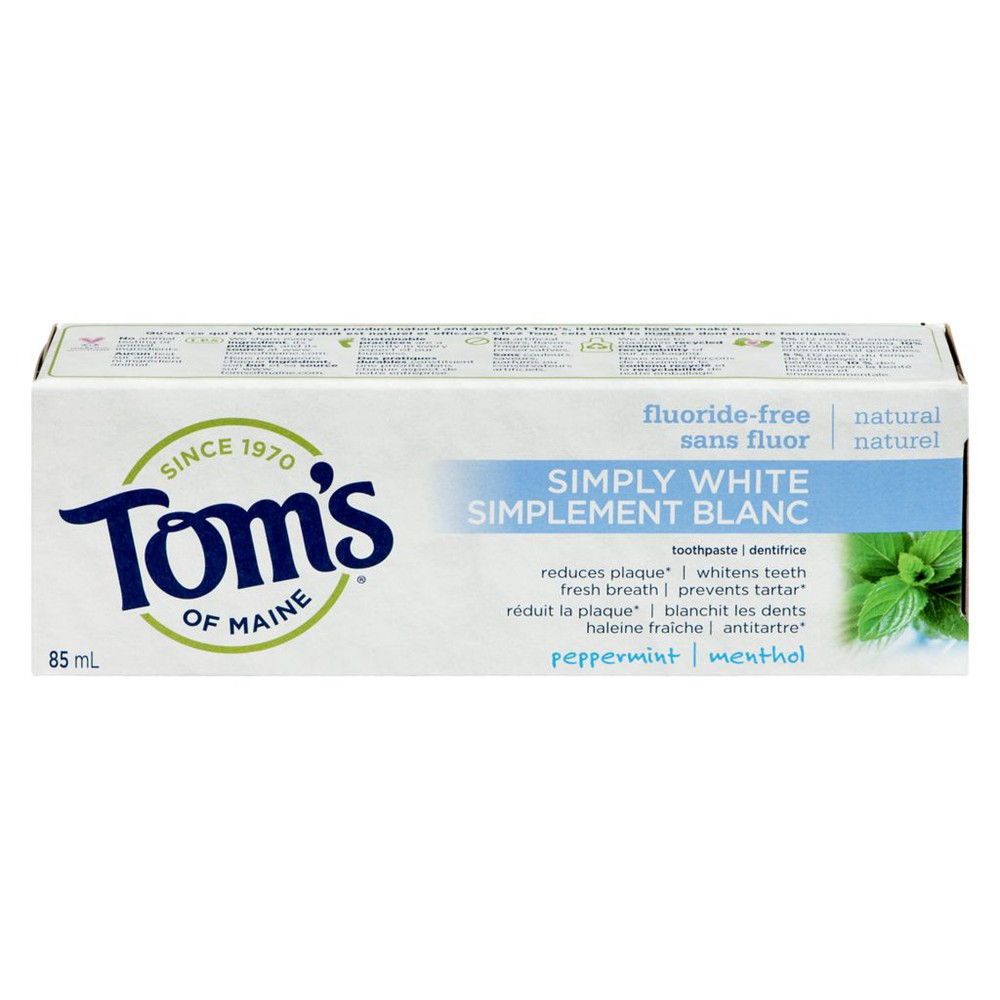 Simply White Toothpaste, Peppermint