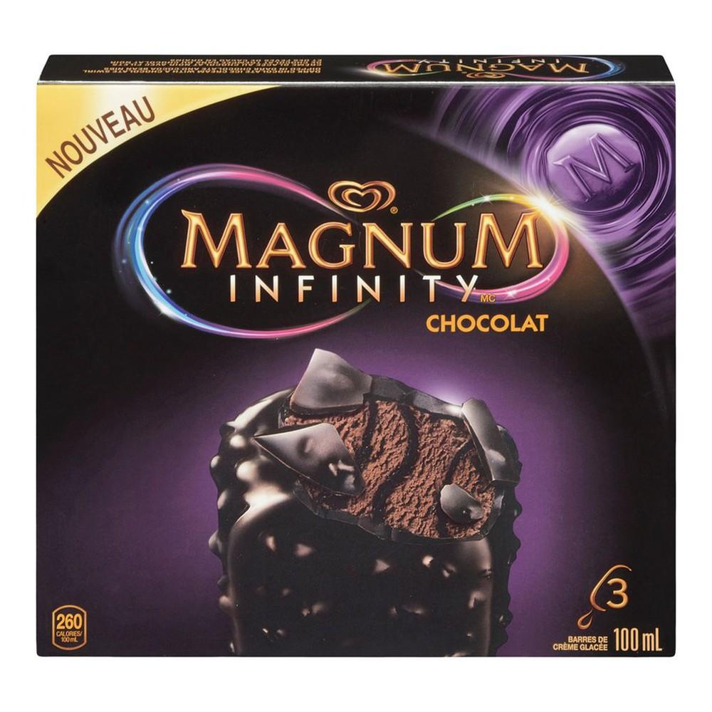 Infinity chocolate ice cream bars