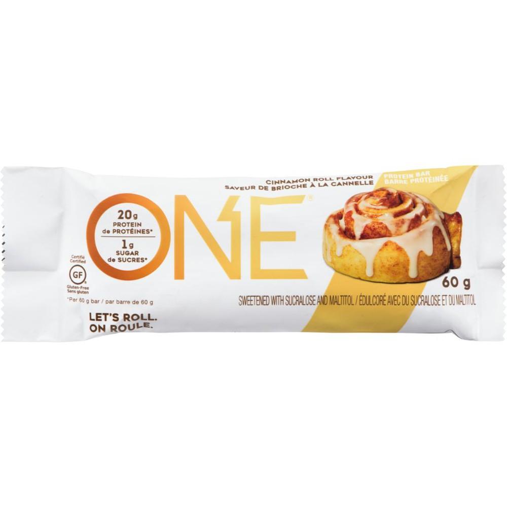 One Bar, Protein Bar, Cinnamon Roll