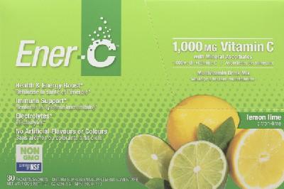 Vitamin C drink mix lemon lime 1000 mg
