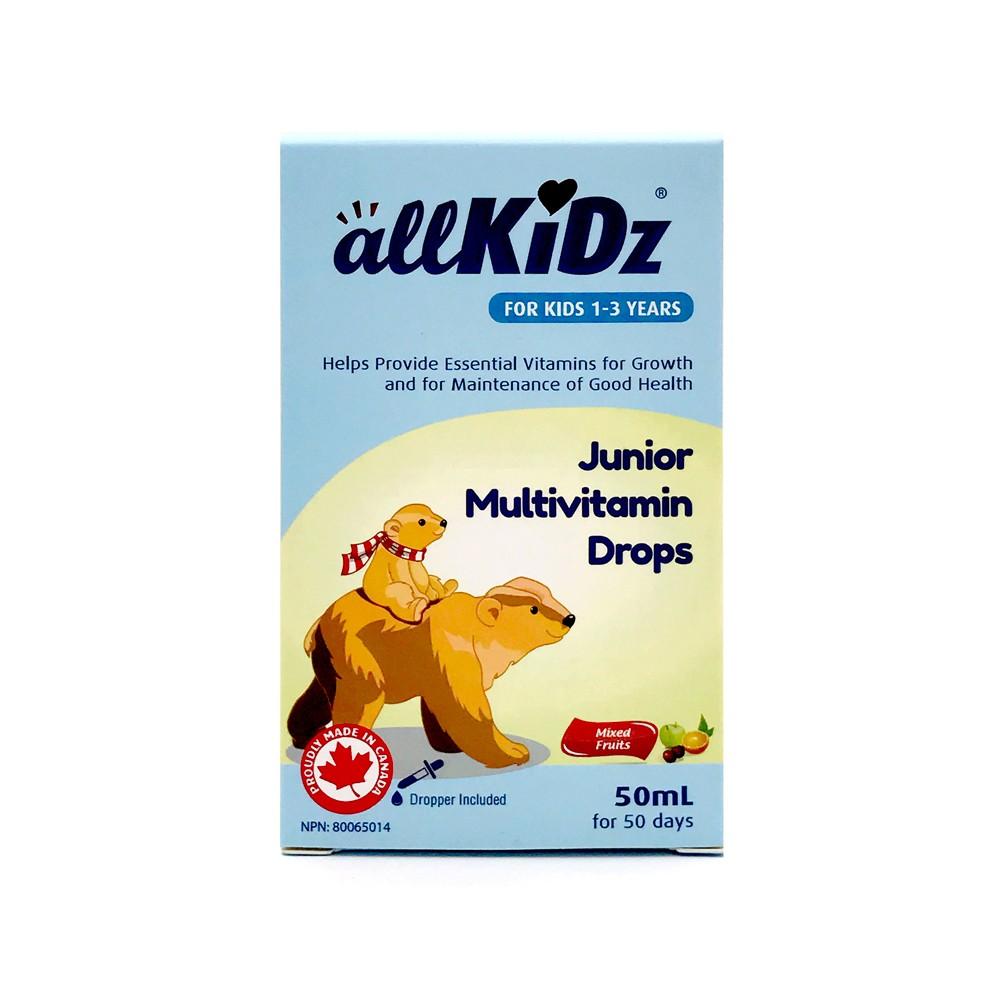 Junior multivitamin drops