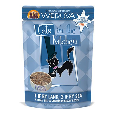 Cats in the Kitchen 1 if by Land, 2 if by Sea