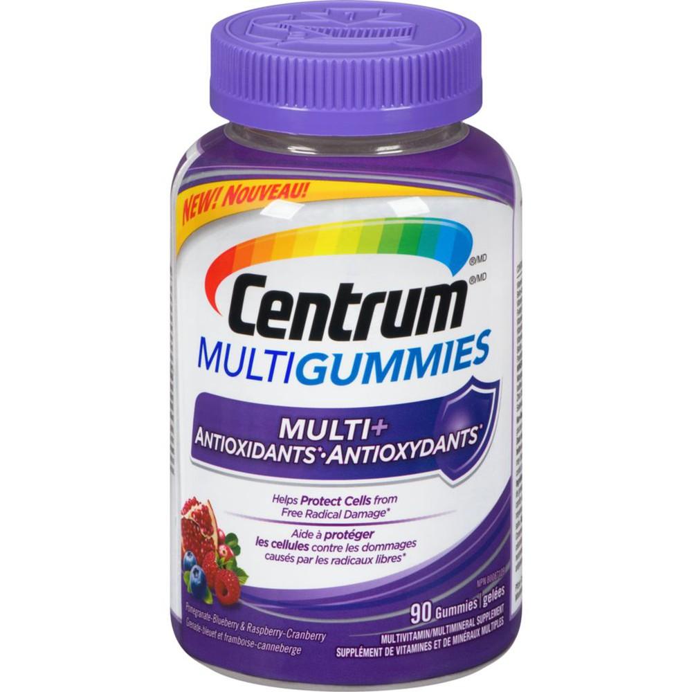 Multigummies + Antioxidant