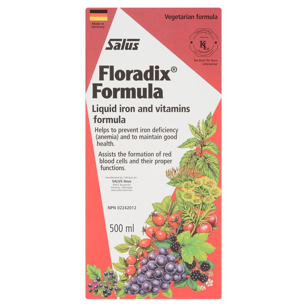 Floradix Liquid Iron Tonic Formula