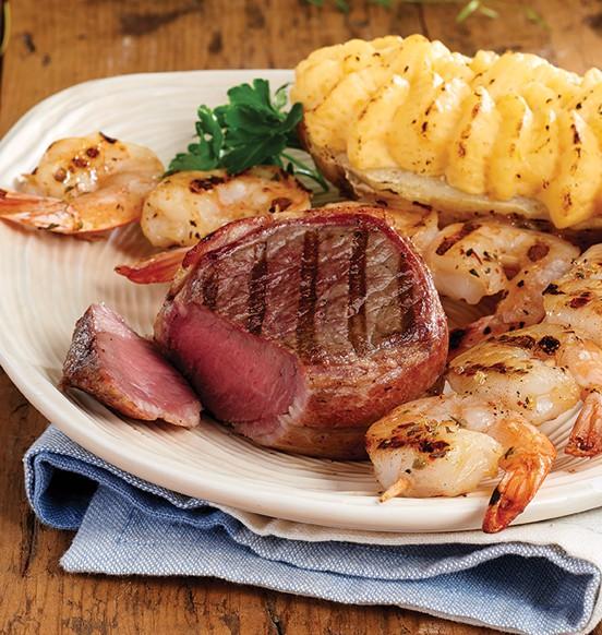 Bacon Wrapped Beef Top Sirloin Steaks