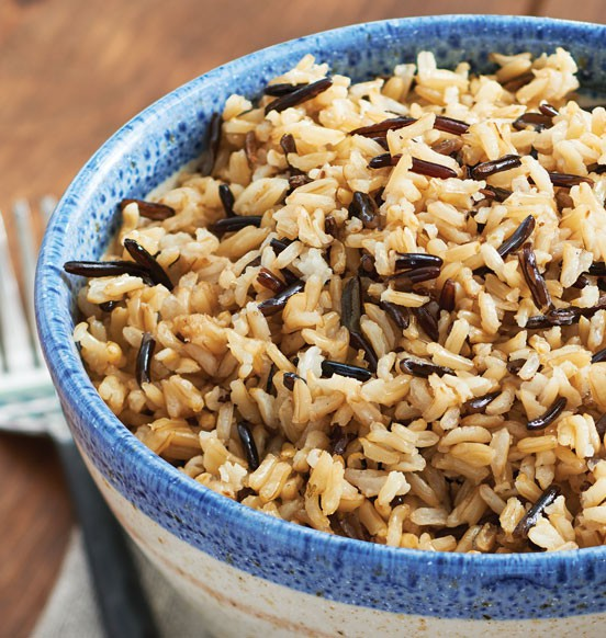 Brown Basmati with Wild Rice