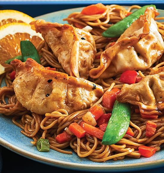 Chicken Dumplings and Noodles