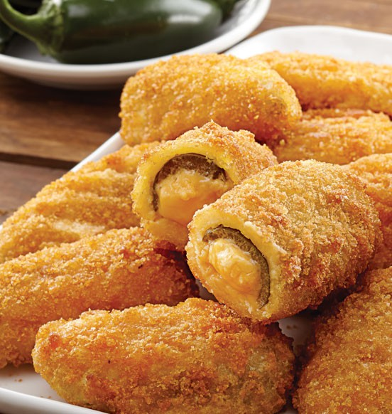 Cheddar-Stuffed Jalapeños