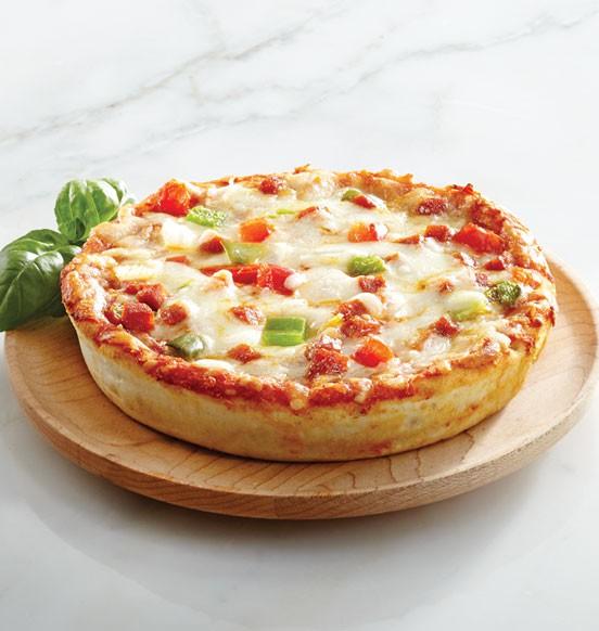 Deep Dish Deluxe Pizza