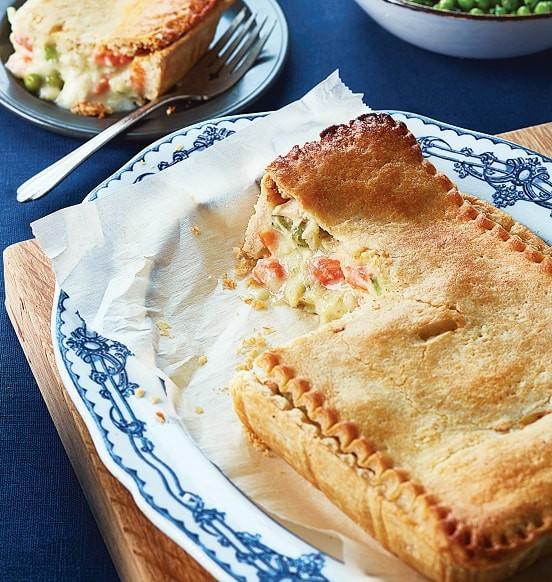 Deep Dish Chicken Pie