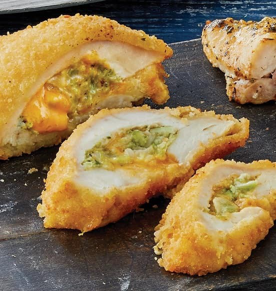 Gourmet Chicken with Broccoli & Cheese